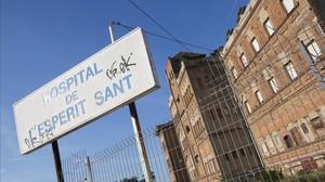 El Pavelló B del Hospital de l'Esperit Sant, en Santa Coloma de Gramenet.
