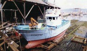 GRAFAND001. BARBATE (CÁDIZ), 23/01/2020.- Fotografía de archivo del registro de pesqueros del Ministerio de Agricultura, Pesca y Alimentación, del barco pesquero gaditano Rua Mar, con sede en Barbate (Cádiz), cuya tripulación es de Algeciras y que permanece desde anoche en paradero desconocido con seis marineros a bordo. Este barco había sido adquirido hace menos de un año por el armador Pedro Maza, presidente de la Federación Andaluza de Asociaciones Pesqueras (FAAPE), según fuentes del sector pesquero y se encontraba faenando en aguas de Marruecos. EFE/ **SOLO USO EDITORIAL / NO ARCHIVOS / NO VENTAS**
