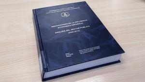 Portada de la tesis doctoral de Pedro Sánchez.