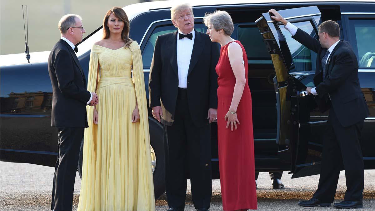 Primer viaje oficial de Trump al Reino Unido.