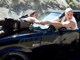 Un fotograma de 'Fast & Furious 8', que acaba de llegar a los cines.