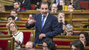 Ramon Espadaler, diputado de Units per Avançar, en el Parlament.
