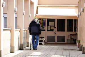 La residencia de la tercera edad de Àger (Lleida), donde se han registrado 14 positivos de coronavirus, 12 ancianos y 2 cuidadores.