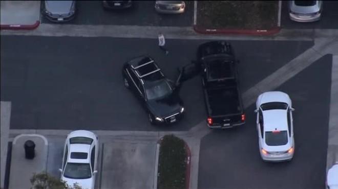El lladre va acabar perdent el control del vehicle i va prosseguir la seva fugida a peu. Una carrera que va ser interceptada per un gos policia, que el va retenir fins que van arribar els agents.