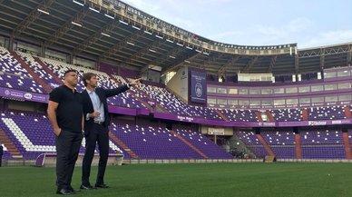 Ronaldo, fenómeno también en el palco