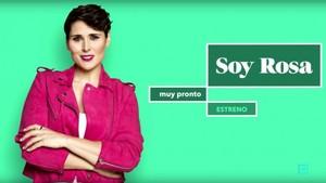 Rosa López, en una imagen promocional del programa de Ten Soy Rosa.
