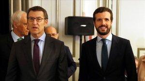 Díaz Ayuso, Feijóo i Moreno volen que el PP doni una última pròrroga a l'alarma