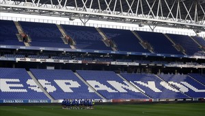 Imagen del RCDE Stadium de Cornellà.