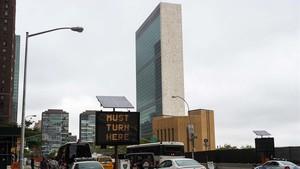 La sede de la ONU, en Nueva York.