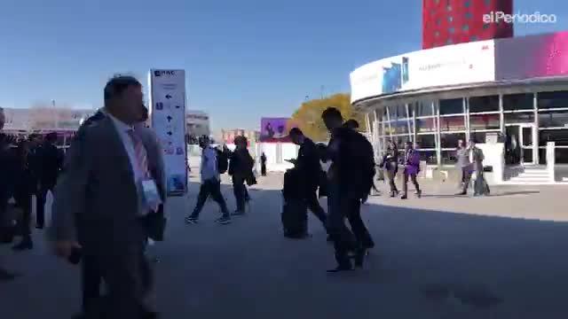 Segundo día en el congreso tecnológico Mobile World Congress.