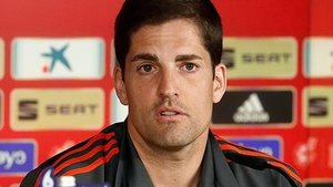 El seleccionador español de fútbol, Robert Moreno.