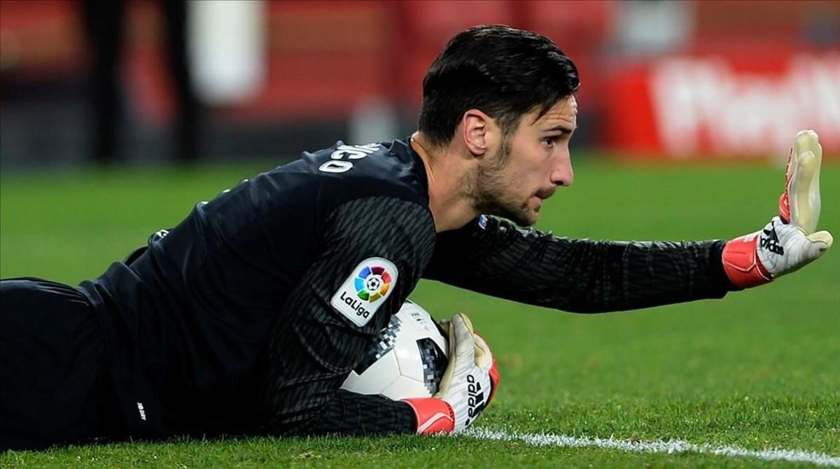 Sergio Rico, portero estrella del Sevilla.