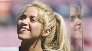 La artista colombiana Shakira, en marzo del 2017.