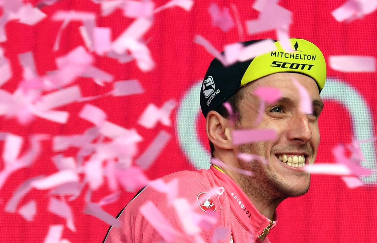 Simon Yates, líder del Giro.