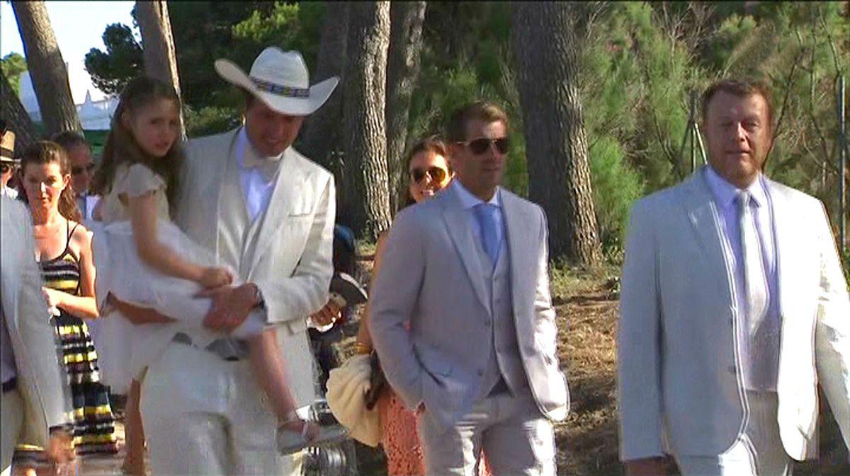 Kimbal Musk en su boda (TN vespre, TV-3).