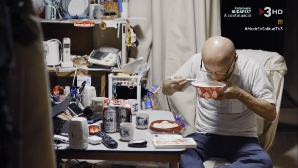 La soledad de un jubilado japonés (TV-3).