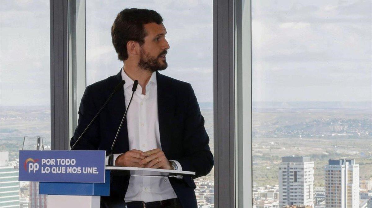 Casado acusa Sánchez d'intentar treure rèdit de «els episodis violents» a BCN