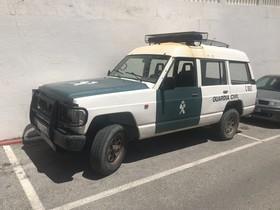 Vehículode refuerzo para la Guardia Civil en Algeciras.