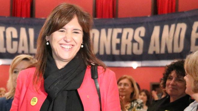 Laura Borràs acusa el Parlament Europeu de voler Puigdemont a la presó