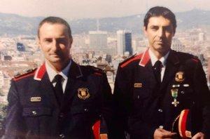 Fotografía del 2005, cuando Trapero era jefe de investigación de Barcelona y de Monteys elnúmero dos.