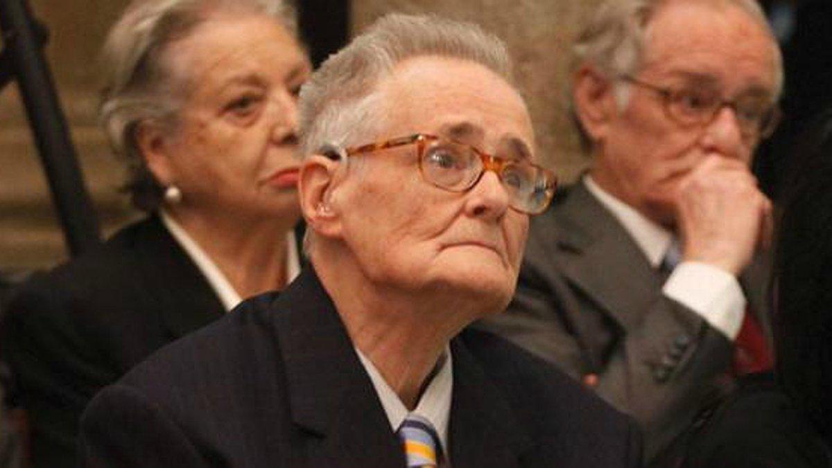 Xavier Puigdemont, padre del expresidente de la Generalitat Carles, en una imagen de archivo.