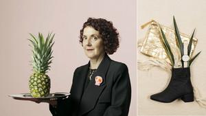 Sabates fetes amb pinyes, el model sostenible que prescindeix del cuir