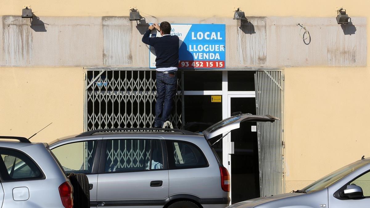 Barcelona subvencionarà les rebaixes del lloguer al petit comerç