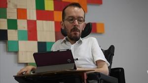 """Echenique insisteix a qualificar de """"nazis"""" els que van assetjar l'assemblea proreferèndum a Saragossa"""