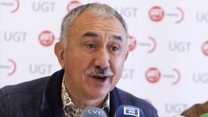 Josep Maria Álvarez, secretario general de UGT.