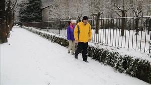 La neu deixa fins a mig metre de gruix al Pirineu