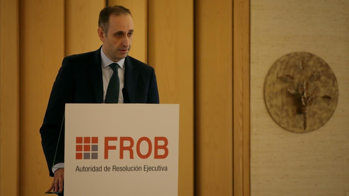 El FROB veu possible tornar a endarrerir la privatització de Bankia
