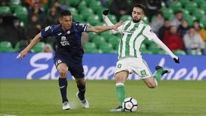El Betis despullada el somni europeu de l'Espanyol (3-0)