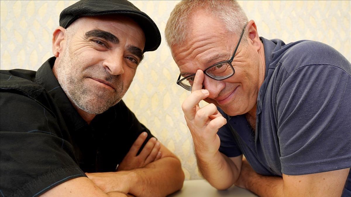 Luis Tosar y Daniel Monzón.