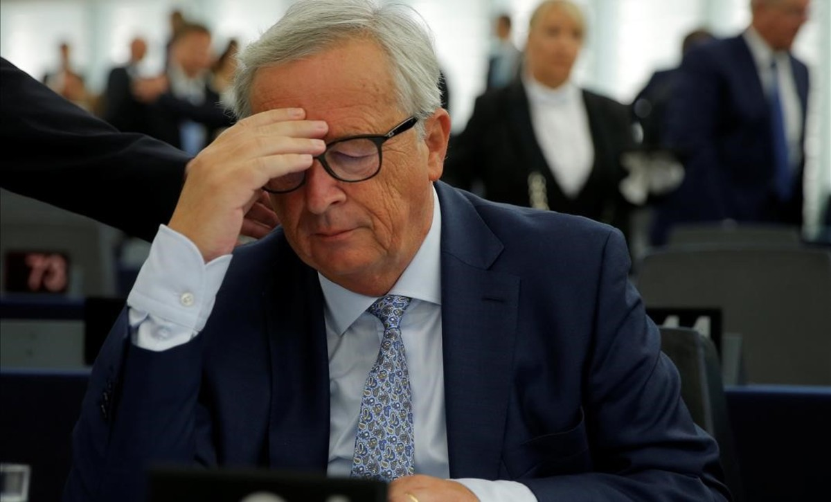 El missatge de comiat de Juncker