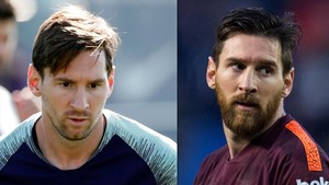 Messi acaba amb els seus dos anys de barba