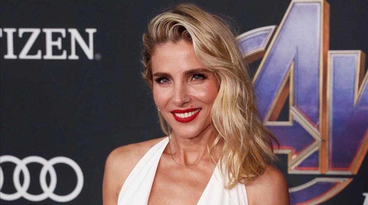 Elsa Pataky, en Los Ángeles, en abril del 2019.