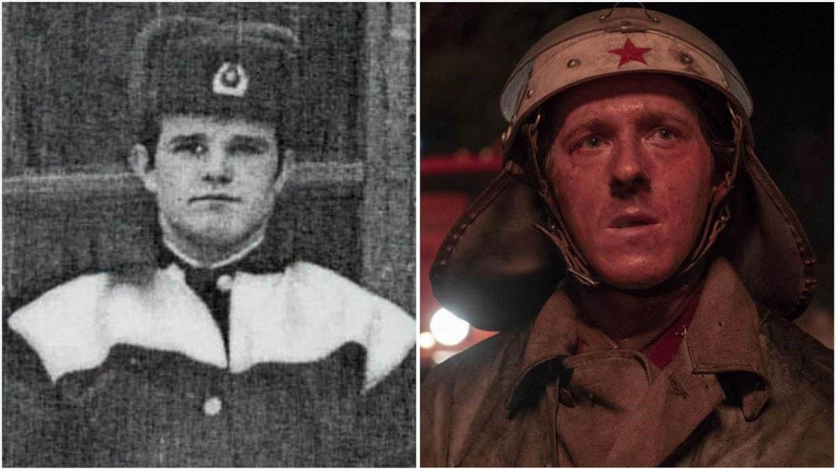 El bombero Vasili Ignatenko, interpretado por Adam Nagaitis en la serie 'Chernobyl'.
