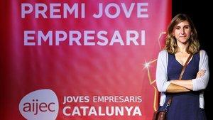 Elisenda Bou-Balust, premi Jove Empresari 2018
