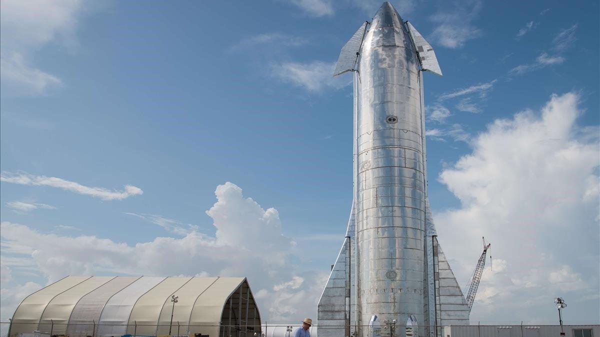 Presentación del Starship en Texas.