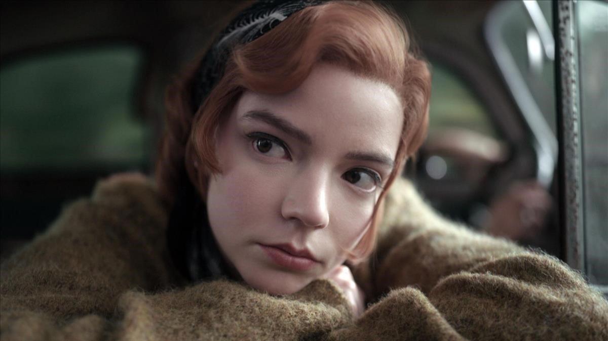 Anya-Taylor Joy en 'Gambito de reina'.