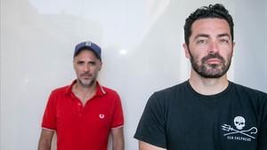 Julien Maury y Alexandre Bustillo, en el Festival de Sitges.