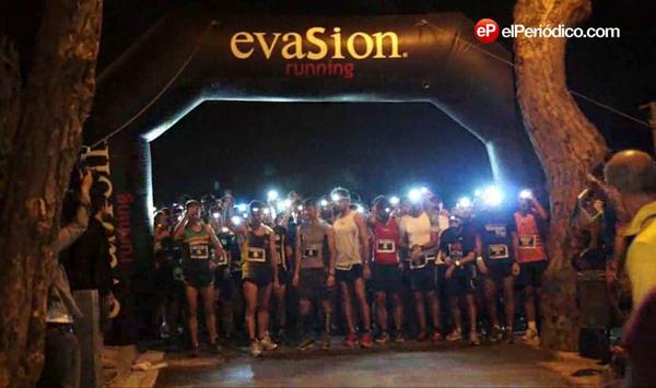 1era edición de la carrera nocturna, Barcelona Midnight Trail en el Tibidabo.