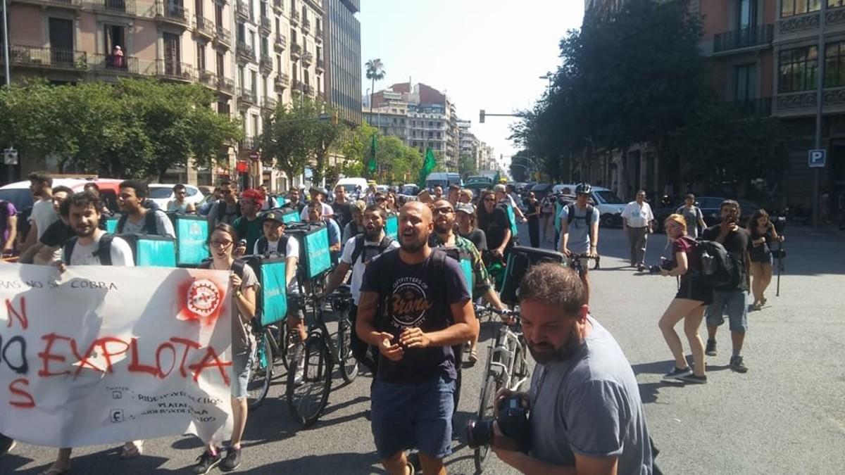Els 'riders': un col·lectiu unit i cada vegada més segur