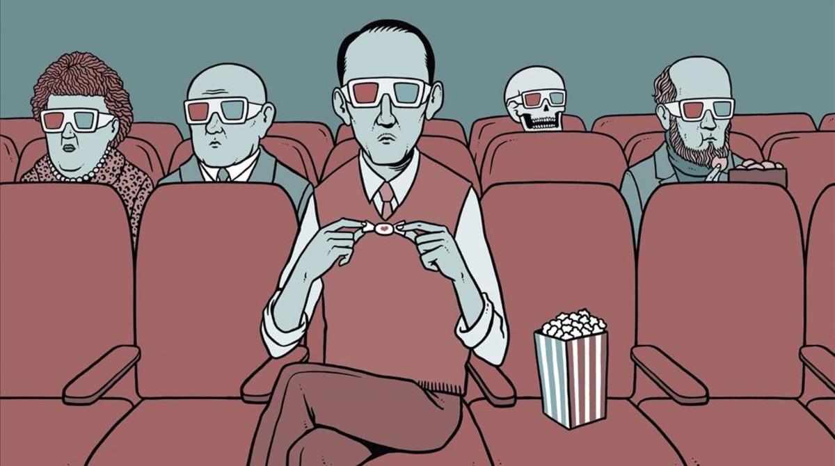 Una de las ideas que Pep Torres incluye en el libro '100 ideas para llevar' editado por Brands & Roses: envoltorios silenciosos para cines.