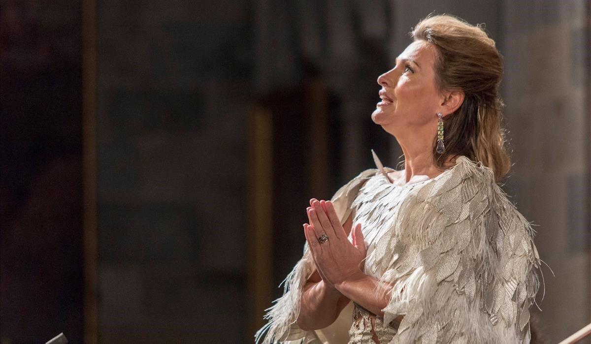 La soprano Ainhoa Arteta, en 2017.