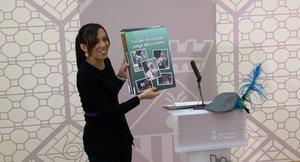 La alcaldesa de Sabadell, Marta Farrés, al presentar este viernes la campaña 'Reis del reciclatge, patges del civisme'.