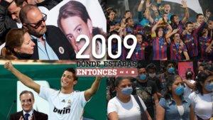 Algunos de los sucesos del año 2009 que 'Dónde estabas entonces' repasará