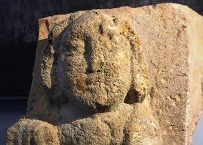 Alto relieve encontrado en Badalona.