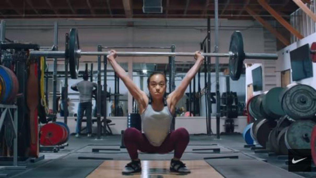 El anuncio de Nike con Serena Williams durante los Oscar