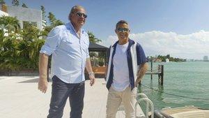 Bertín Osborne con Alejandro Sanz en la nueva entrega de 'Mi casa es la tuya'.